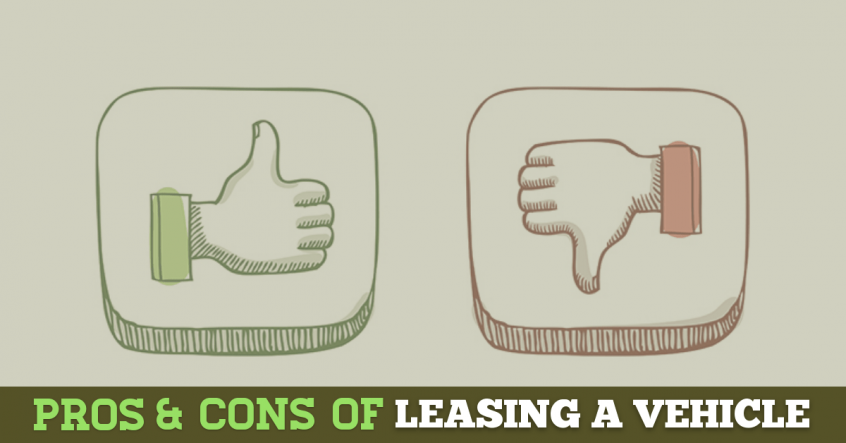 pros cons of a leasing vehicle